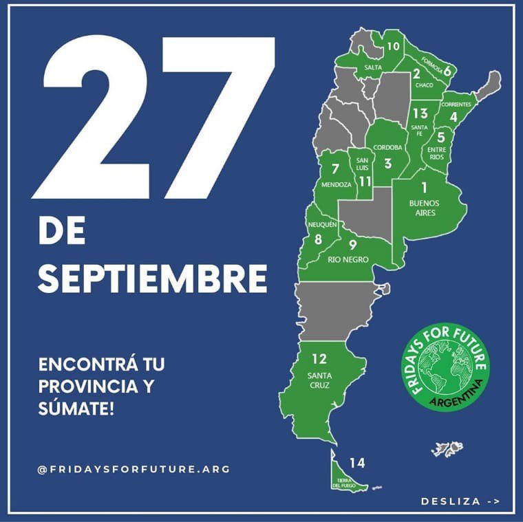 Fridays for future Argentina