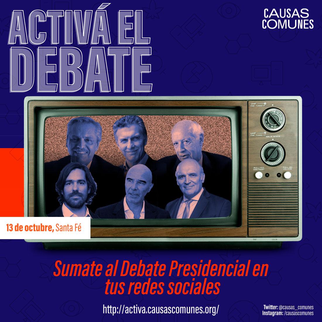 Activá el Debate Presidencial